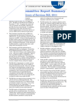 EDS Bill SCR Summary