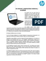 HP lanza PCs de consumo y empresariales modernas y accesibles