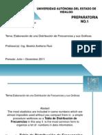 Matematicas Elaboracion de Una Distribucion de Frecuencias