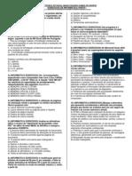 EXERCÍCIOS DE INFORMÁTICA - PROFESSOR