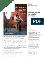 Amherst Media's Flash Techniques for Location Portraiture