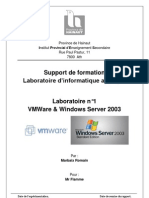 Labo 1 - Windows Serv 2003