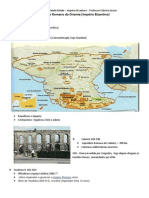 Império Romano do Oriente ou Império Bizantino