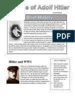 Rise of Hitler Worksheet