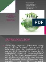 Etica en Las Organizaciones Diapositivas