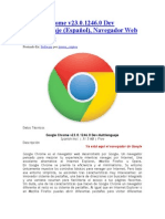 Google Chrome v23