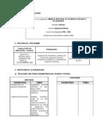 PROGRAMA Manejo Integral de Residuos Solidos y Peligrosos