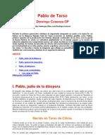 Cosenza, Domingo - Pablo de Tarso