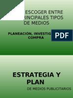 Plan y Estrategia de Medios