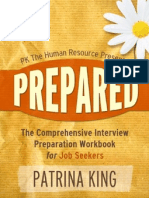 """Prepared"" An Interactive Interview Preparation Guide"