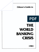 The World Banking Crisis Howard Phillips 1983 36pgs POL ECO