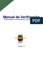 Manual de Verificación V1
