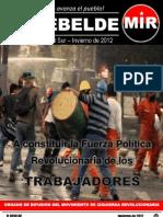 El Rebelde N° 275 Zonal Sur - Inv 2012