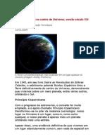 A Terra não Está No Centro Do Universo - Astrofísica - Ciência