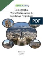 Areas Urbanas y Proyecciones de Población a nivel mundial