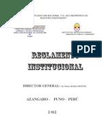 REGLAMENTO INSTITUCIONAL 2012