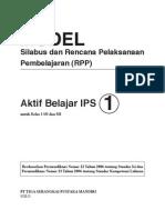 RPP IPS kelas 1 SD