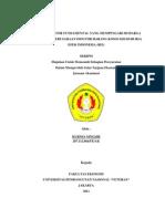 FAKTOR – FAKTOR FUNDAMENTAL YANG MEMPENGARUHI HARGA SAHAM PADA PERUSAHAAN INDUSTRI BARANG KONSUMSI DI BURSA EFEK INDONESIA (BEI)