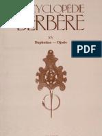 Encyclopédie Berbère Volume 15