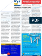 Pharmacy Daily for Wed 26 Sep 2012 - Breast and bowel cancer. Accreditation review, Swisse jobs and much more...