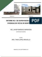 INFORME de Supervision de Obras