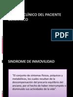 CUADRO CLÍNICO DEL PACIENTE GERIATRICO