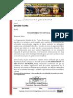 Nombramiento Oficial Como Vicepresidente Ednaldo Cunha (2)