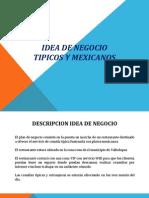Diapositivas Idea de Negocio