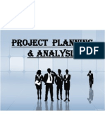 Project Planning & Analysis
