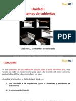 CLASE_01 Elementos de Una Cubierta