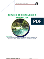 Estudio de Hidrologia e Hidraulica