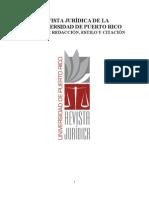 Manual de Estilo Revista Juridica Vol. 82