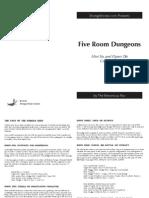 Five Room Dungeons