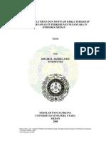 Pengaruh Pelatihan Dan Motivasi Kerja Terhadap Kinerja Karyawan Pt Perkebunan Nusantara IV (Persero) Medan