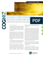 Innovations in MDM Implementation