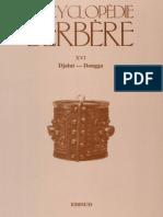 Encyclopédie Berbère Volume 16