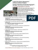 2010 Fact Sheet Livestock vs. Horses on Blm Lands