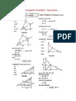 Triangulos Rectangulos Notables