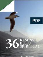 Henky Kuntarto - 36 Resensi Buku Spiritual
