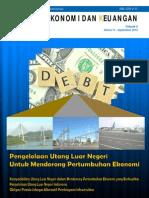 Tinjauan Ekonomi dan Keuangan Edisi September 2012