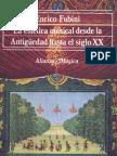 Fubini Enrico - La estética musical desde la antigüedad hasta el siglo XX