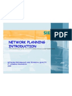 Network Planning Introduction