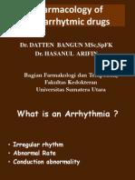 26042012Pharmacology of Antiarrhytmic Drugs