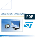 Led Solutions for Lcd Backlighting Marketing Presentation