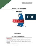 JFEBEAR Running Manual(Rev.2)