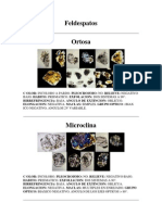 Atlas de Rocas Con Folotgragias de Microscopio