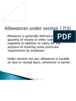 Sallary Allowance