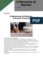 Newsletter_Il Neuroma Di Morton - Dott.Raffaello Riccio - www.raffaelloriccio.com