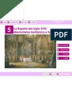 HISTORIA DE ESPAÑA 2º BACHILLERATO. PRESENTACIÓN DEL TEMA