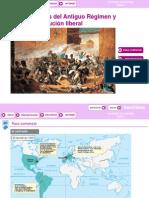 HISTORIA DE ESPAÑA. 2º BACHILLERATO. PRESENTACIÓN TEMA DE LA CRISIS DEL ANTIGUO RÉGIMEN Y REVOLUCIÓN LIBERAL